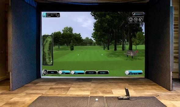 indoor golf Simulator in fort wayne