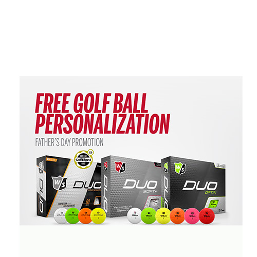 Wilson Staff Duo Family Fathers Day Personalization!